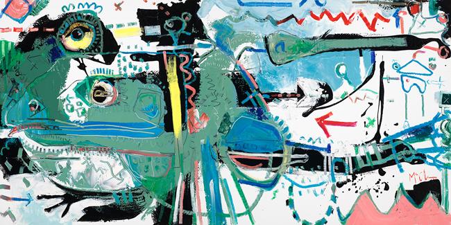 Frog 2 Daniel McClendon Fine art asheville painter