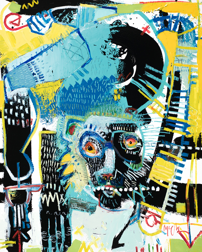 Lemur McClendon Fine art painting asheville