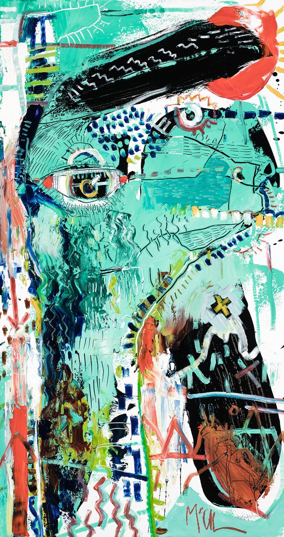 Alpaca McClendon Fine Art Modern Fine Art Asheville Painting