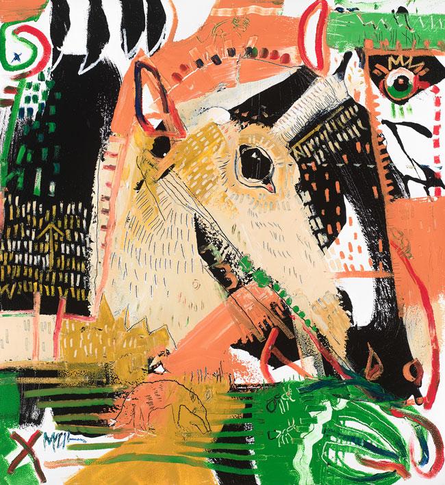 Lesser Anteater McClendon Fine Art Modern Fine Art Asheville Painting