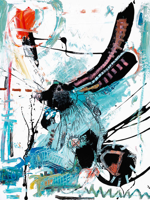 Rabbit II Painting by Daniel McClendon
