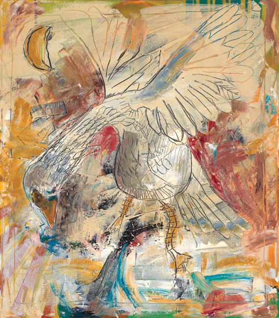Goose painting by Daniel McClendon